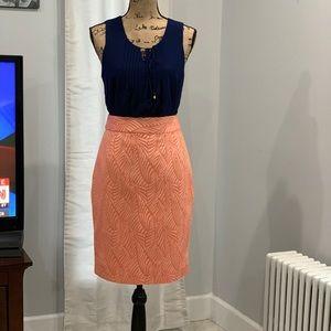 Calvin Klein jacquard skirt size 4